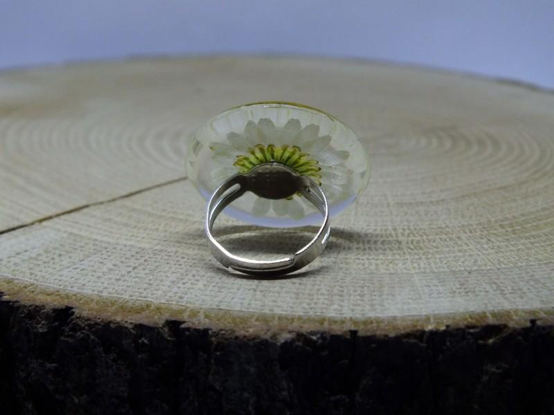 White flower ring yuz0045 white flower ring ring rengalux mightylinksfo