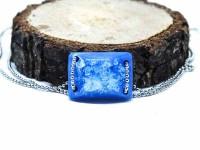 Mavi Reçine Bileklik-Reçine Kolyeler-RengaLux