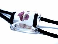 Pembe Çiçekli Bileklik-Reçine Takılar-RengaLux