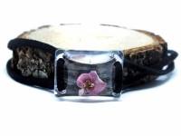 Pembe Çiçekli Bileklik