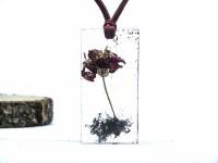 Çiçekli Kolye