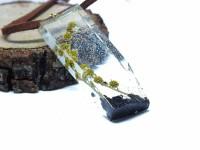 Mimoza Çiçeği Reçine Kolyeler