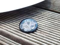 Mor Çiçekli Broş-Reçine Kolyeler-RengaLux
