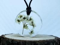 Gelin Çiçeği Reçine Kolye