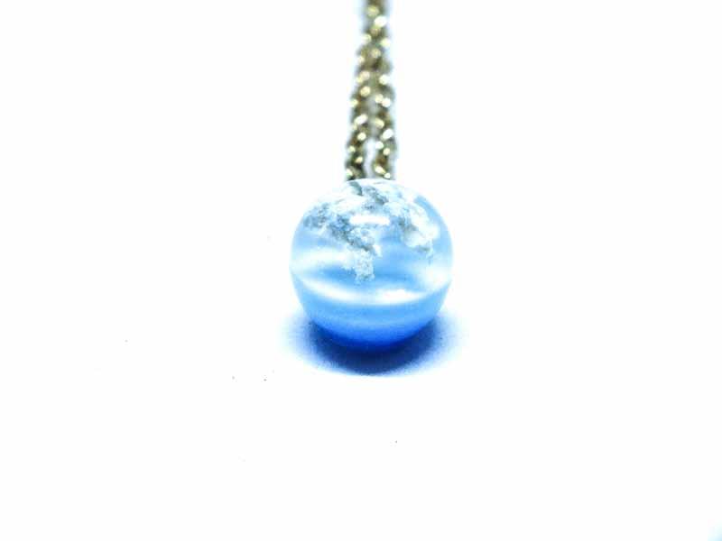 Küre Bulut Kolye (9mm)-Reçine Kolyeler-RengaLux
