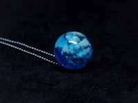 Bulut Kolye (12mm)-Reçine Kolyeler-RengaLux