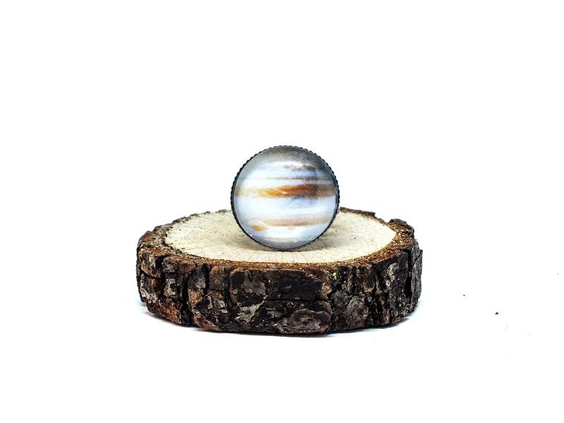 Galaxy Jupiter Gümüş Yüzük-Yüzük-RengaLux